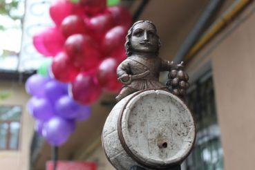 Міні-скульптура Петру I, Ужгород