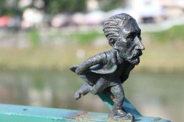 Mini-sculpture to Tivadar Csontváry, Uzhhorod