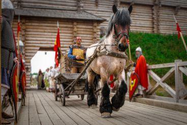 Древний Киев в «Парке Киевская Русь»