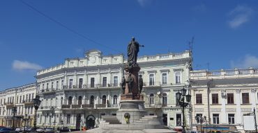 Monument to Catherine the Great, Odesa