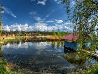 База отдыха Строитель, Песчанка