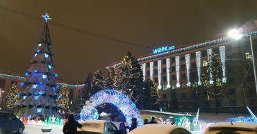 Площадь Героев Майдана, Днепр