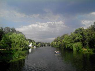 Слияние рек Ингулец и Саксагань