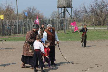 Ethnic farm Cossack Sich, Hrechane
