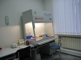 Оборудование в баклаборатории