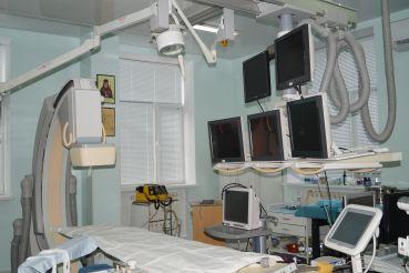 Ангиограф в операционной
