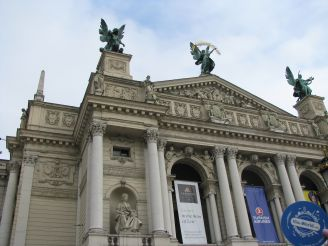 The L'viv National Academic Opera and Ballet Theatre of Solomiya Krushelnytska