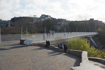 Вид на Тещин міст