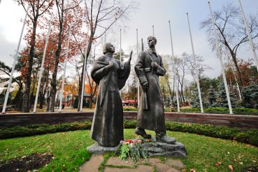 The Sculpture to the Woman of the Great Patriotic War