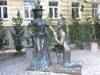 Пам'ятник Проні Прокопівні та Свириду Голохвастову, Київ
