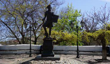 Памятник Иосифу Дерибасу, Одесса