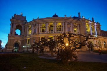 The Odesa National Academic Theater of Opera and Ballet