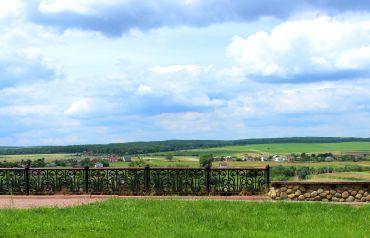 Панорама з оглядового майданчика біля криниці