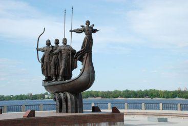 Пам'ятник засновникам Києва, Київ