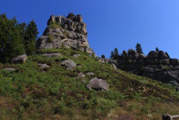 Урицькі скелі, Урич