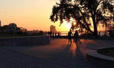 Оглядовий майданчик у парку Шевченка, Дніпро