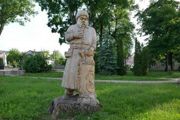 Парк дерев'яних скульптур, Дубно