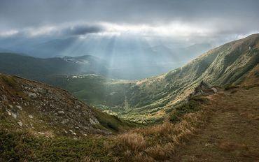 Вид на Карпатский национальный природный парк с Говерлы. Фотография победила в международном фотоконкурсе