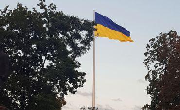 Найбільший прапор України, Дніпро