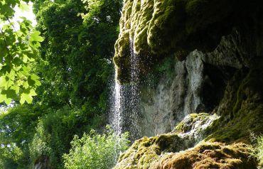 Водоспад Дівочі сльози, село Ісаків