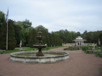 Fontani v parke