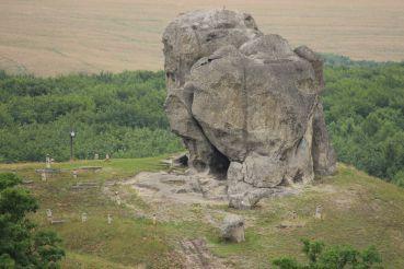 "The Nature Monument ""Chortiv Kamin"" (Devil's Stone)"
