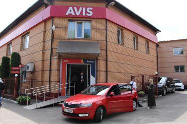 Car rental Avis, Kyiv