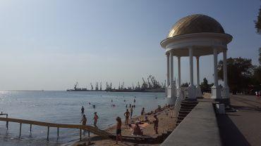 Беседка на набережной, Бердянск