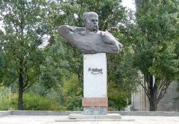 Monument to Taras Shevchenko Zaporozhye