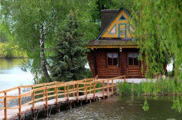Будиночок рибалки на Острові кохання, Старий Солотвин