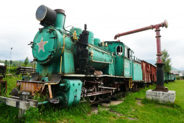 Museum of narrow-gauge railway Kolochavskaya