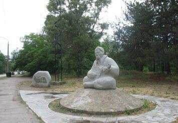Пам'ятник козаку Мамаю, Запоріжжя