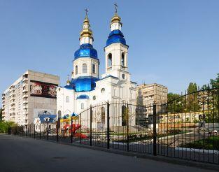 Храм в честь иконы Божьей Матери, Днепропетровск