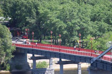 Парковий міст, Київ