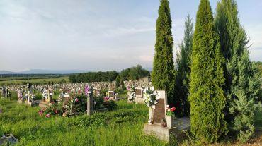 Старинное кладбище, Дерцен