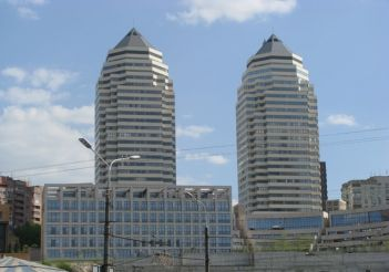 Towers residential complex in Dnepropetrovsk