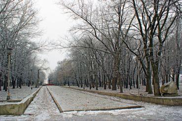 Сквер Клюева, Днепропетровск