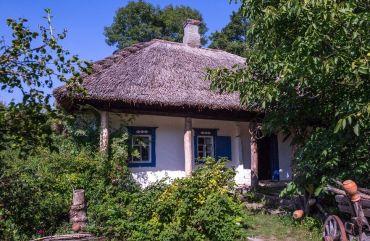 Садиба-музей «Українська хата», Нижня Озеряна