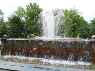 Міські фонтани, Коростень