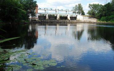 Опошнянская ГЭС, Опошня