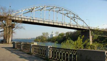 Пішохідний міст на Монастирський острів, Дніпропетровськ