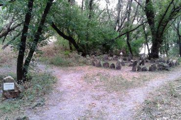 Кам'яне святилище, Хортиця