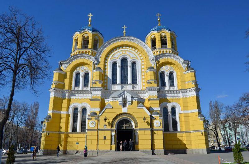 Картинки по запросу владимирский собор киев