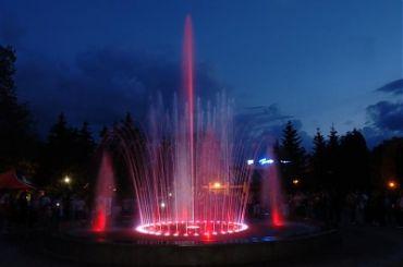 Музыкальный фонтан, Миргород