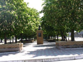 Пам'ятник Попову, Василівка