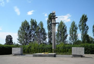 Братська могила військовополонених, Запоріжжя