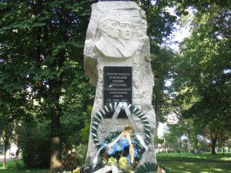 Памятник сечевым стрелкам, Винница