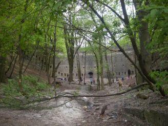 Мур и подпорная стена, Каменец-Подольский
