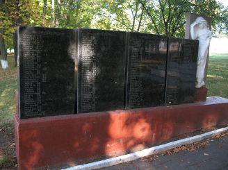 Памятный знак в честь воинов-односельчан, Солобковцы