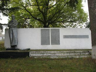 Братская могила советских воинов, Антоновка